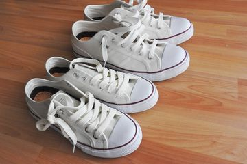 How to Keep Your Kids' White Shoes White