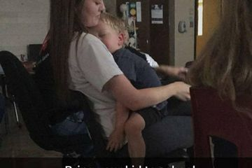 This Story Behind a Teen Sitting in Class With Her Toddler Brother Is What You Need Today