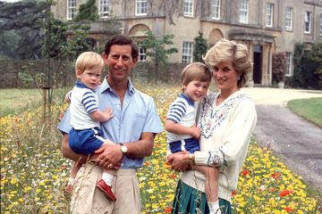 "Prince Charles Wanted These Names For William and Harry, but Diana Called Them ""Too Old"""