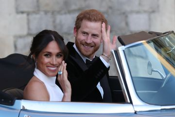 Prince Harry and Meghan Markle's Wedding Reception Had Fireworks, Whitney Houston Songs, and Rum