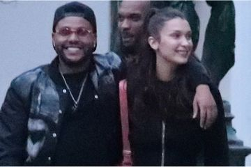 Ooh La La! The Weeknd and Bella Hadid's Parisian Date Night Ended With a Bouquet of Roses