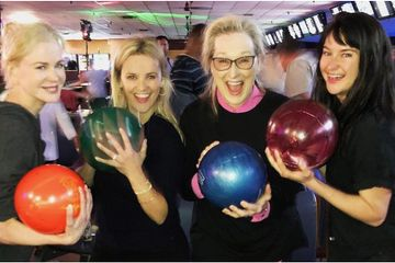 The Big Little Lies Cast Went Bowling Together - See All the Photos From Their Night Out