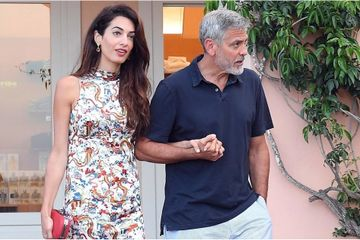 Everyone, Take Note: George Shows Off His Chivalrous Side During an Italian Date Night With Amal