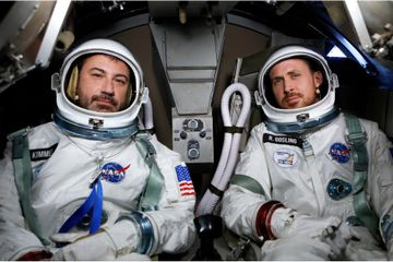 Ryan Gosling and Jimmy Kimmel Tried Being Astronauts Together - We Can't Stop Giggling