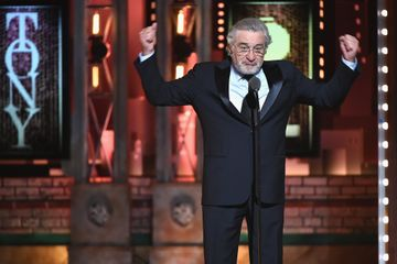 What Robert De Niro Said During That Censored Tony Awards Clip - Yes, It Was About Trump
