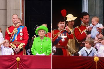 See How the Royal Family Has Changed Over the Years as We Look Back at Trooping the Colour