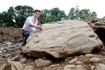 5,500-year-old carved Irish tomb is 'find of a lifetime'