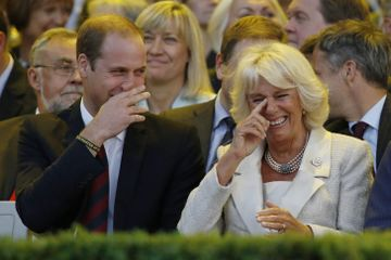 20 Photos That Show How William and Harry Have Embraced Camilla as Their Stepmom