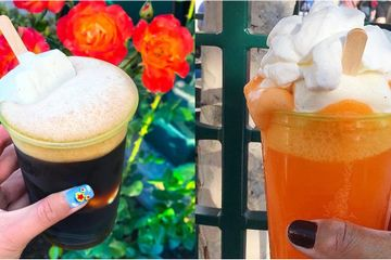 It's a Good Time to Be an Adult at Disney - You Can Order Boozy Ice Cream Floats!