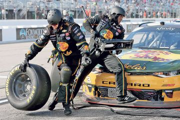 NASCAR pit crews are way more buff than you think
