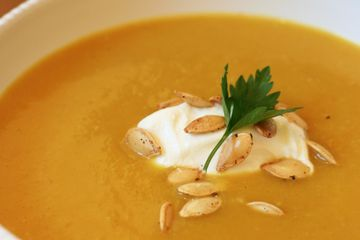 Warm Up With a Spicy Bowl of Curried Pumpkin Soup