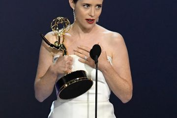 "Claire Foy Wins Her Final Emmy For The Crown: ""I Dedicate This to the Next Generation"""
