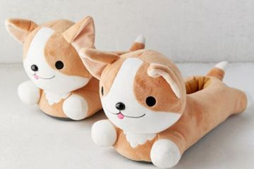 Ruff Day? Slip On These Heat-Up Corgi Slippers For Toasty-Warm Feet!