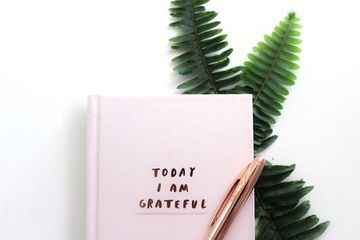 Give your materialistic teen a daily gratitude journal