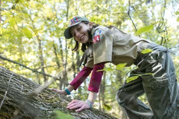 Meet the ceiling-shattering girls joining the Cub Scouts