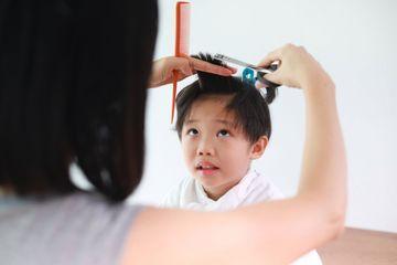 Do you still have hair from your child's first haircut?