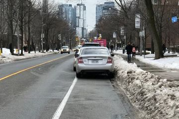 Bikes are transportation and bike lanes should be kept clear all year round