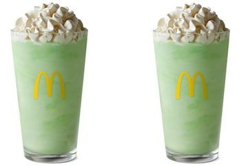Today Must Be My Lucky Day, Because McDonald's Shamrock Shake Is Officially Back!