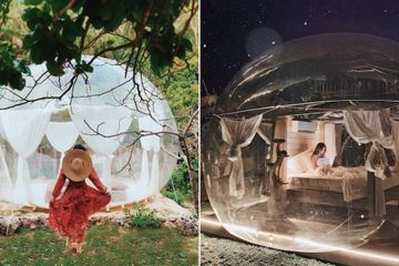 This Transparent Bubble Hotel in Bali Is Pretty Magical - Oh, and It's Just Over $100 a Night