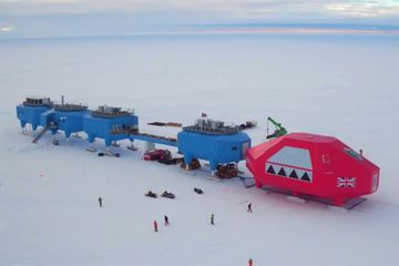 UK abandons Antarctic research base over chasm fears
