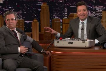 Jimmy Fallon Really Tried to Get Avengers Secrets From Mark Ruffalo With a Lie Detector Test