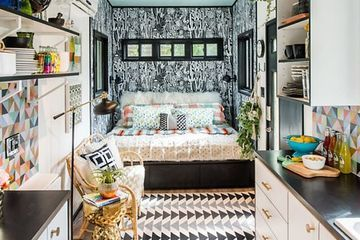 Eye-popping 'maximalist' tiny house suggests that 'more is more'