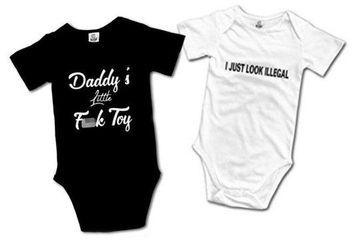 'Pedophile' baby jumpsuits pulled from Amazon amid outrage