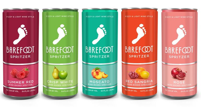 Barefoot Wine Officially Has Spritzers in a Can, and OMG, Gimme the