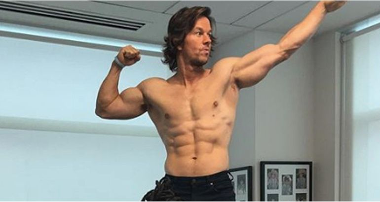 405b4952 Mark Wahlberg Celebrates LeBron James Going to the Lakers With a Shirtless  Snap